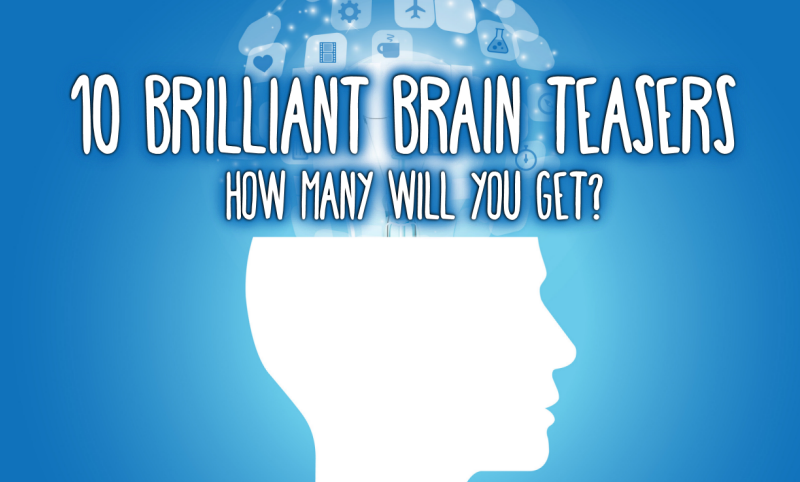 Gallery For gt Brain Teasers With Answers High School